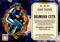 2018 Diamond Kings Diamond Cuts Signatures #2 Gary Carter/25
