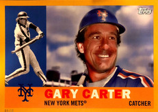 2017 Topps Archives 5X7 Gold #61 Gary Carter/10
