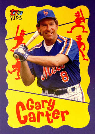 2020 Topps Throwback Thursday #251 Gary Carter Topps Kids /793