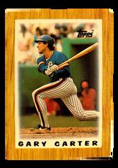 1987 Topps Mini Leaders #20 Gary Carter DP