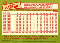 2001 Topps Chrome Traded #T111 Gary Carter 85