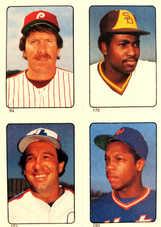1985 Topps Stickers #192 Gary Carter/(94/170/280)