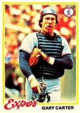 1978 Topps #120 Gary Carter