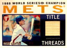 2005 Topps Pristine Legends Title Threads Relics #GC Gary Carter Bat