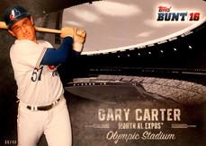 2016 Topps Bunt Stadium Heritage 5X7 #SH13 Gary Carter/49