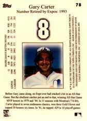 2001 Topps Tribute #78 Gary Carter
