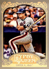 2012 Topps Gypsy Queen #251 Gary Carter