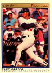 1991 O-Pee-Chee Premier #19 Gary Carter