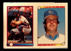 1989 Topps Stickers #2 Gary Carter