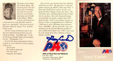 1993-1994 Pro Athletes Outreach Pamphlets #3 Gary Carter (Suit)