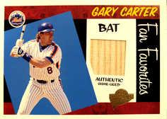 2005 Topps All-Time Fan Favorites Relics #GC Gary Carter Bat/350