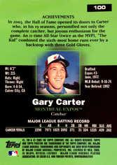 2003 Topps Pristine #100 Gary Carter