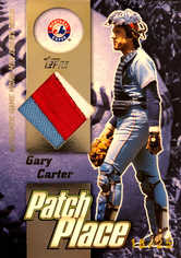 2004 Topps Clubhouse Patch Place Relics #GC Gary Carter/25