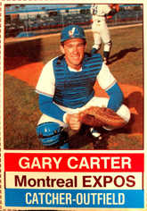 1976 Hostess #62 Gary Carter SP