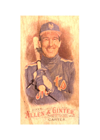 2016 Topps Allen & Ginter Mini Wood #224 Gary Carter 1/1