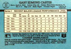 1991 Donruss #151 Gary Carter
