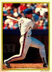 1989 Topps Glossy Send-Ins #17 Gary Carter