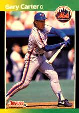 1989 Donruss Baseball's Best #182 Gary Carter