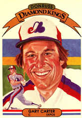 1982 Donruss #2 Gary Carter DK