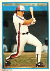 1985 Topps Glossy Send-Ins #36 Gary Carter