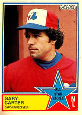 1983 O-Pee-Chee #314 Gary Carter AS