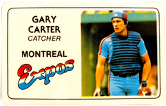 1981 Perma-Graphic Credit Cards #32 Gary Carter