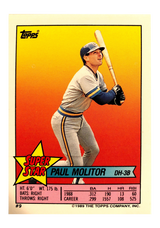 1989 Topps Stickers #160 Gary Carter AS