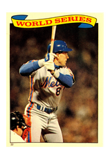 1987 Topps Stickers #22 Gary Carter WS