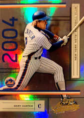 2004 Absolute Memorabilia #131 Gary Carter/1349