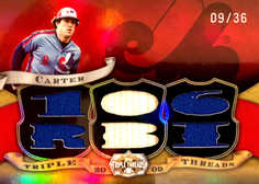 2009 Topps Triple Threads Relics #66 Gary Carter/36