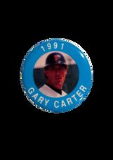 1991 MLBPA Photo Button Gary Carter