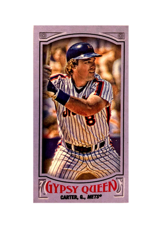 2016 Topps Gypsy Queen Mini Purple #320 Gary Carter/250