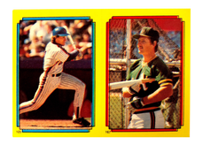 1988 Topps Stickers #105 Gary Carter (167)