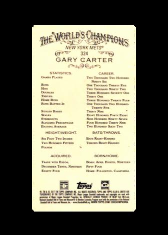2017 Topps Allen and Ginter Mini #324 Gary Carter