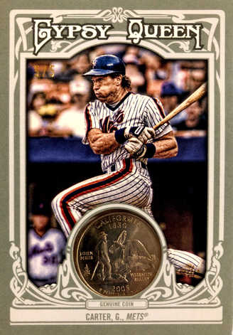 2013 Topps Gypsy Queen Hometown Currency Coins #48 Gary Carter/5