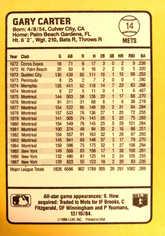 1988 Donruss Baseball's Best #14 Gary Carter