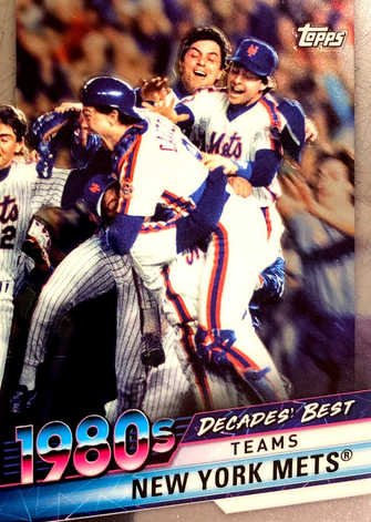 2020 Topps Decades' Best Chrome Series 2 #DBC55 New York Mets