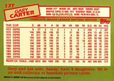 2001 Topps Traded Gold #T111 Gary Carter 85/2001