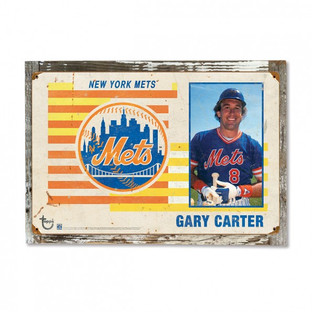 2015 Topps Distressed Wood Sign