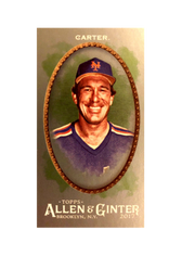 2017 Topps Allen and Ginter X Mini Silver #324 Gary Carter 1/1