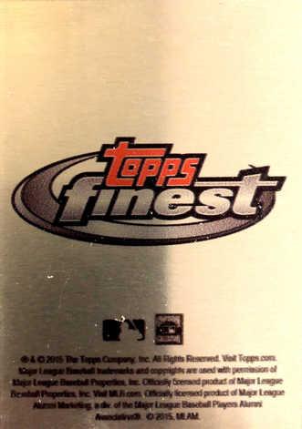 2015 Topps Finest Metal Retired Legends 1993 #GC Gary Carter/99