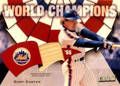 2002 Topps Stadium Club World Champion Relics #WCGC1 Gary Carter Bat