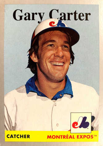 2019 Topps Archives Silver #43 Gary Carter/99