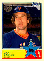 2018 Topps S2 1983 Topps Baseball All Stars #83AS73 Gary Carter