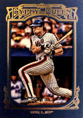 2013 Topps Gypsy Queen Blue #48 Framed Gary Carter/499