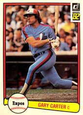 1982 Donruss #114 Gary Carter