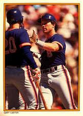 1987 Topps Glossy Send-Ins #11 Gary Carter