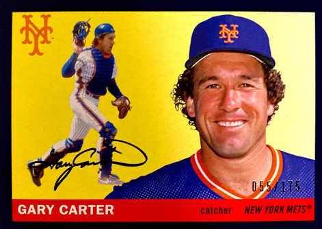 2020 Topps Archives Purple #46 Gary Carter/175