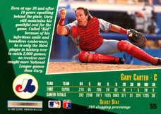 1993 Select #55 Gary Carter