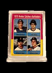 1989 Topps Doubleheaders Mets/Yankees Test #4 Gary Carter